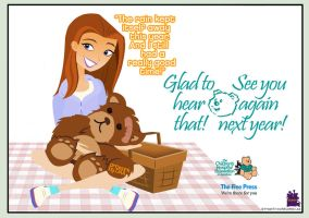 2016 Teddy Bears' Picnic THANK YOU! by daanton