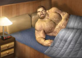 Bruce -  bedtime by Orsus