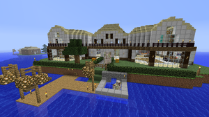 Minecraft Mansion III by shadwgrl