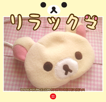 Korilakkuma coin purse by Cloty-chan