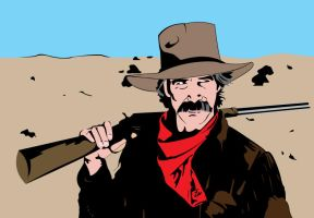 Sam Elliott color by garrett-btm
