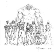 Alpha Flight by ReillyBrown