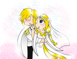 Just Married (Zelink) by The-Awesome-Blossom