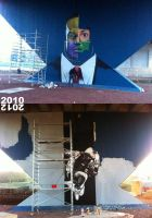biggest wall so far... 2010 - 2012 by smates