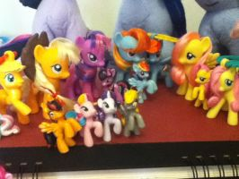 zoom in MLP hair style figures by AshleyFluttershy