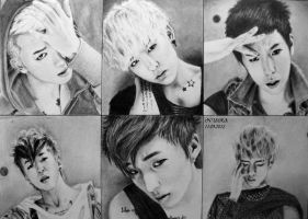 BAP drawing by diamondnura