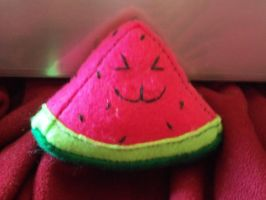 Juicy, the kawaii watermelon slice FOR SALE by ahopper84