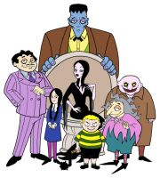 The Addams Family by b3hindhaz3l3yes