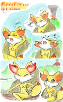 Fennekin and the Ashes by Renatwo