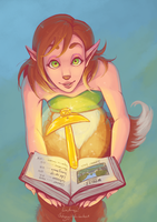 Elora's guidebook by thehappygirl