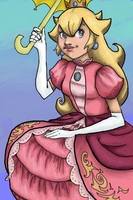 Princess Peach by Mags-Pi