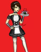 Maid: Tea by aisazia