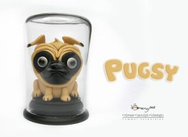 Pugsy in a bottle by Dinuguan