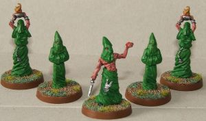 Cthulhu Cultists by keeper40k