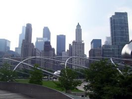 The view from Grant Park by BloodStainedSharpie