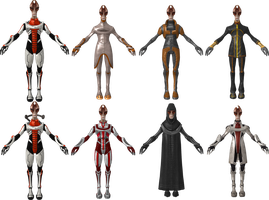 Mordin Outfit Pack by Padme4000