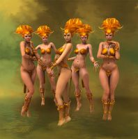 Daughters of the Sun by LillithI