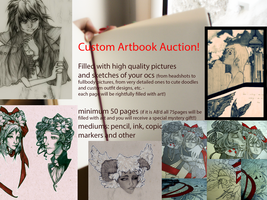 ENDING SOON!! Custom Artbook Auction! (OPEN) by ms-villeroy
