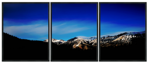 Breaking Dawn 3 Panel Virtual Framed Print by Joe-Lynn-Design