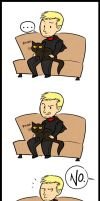The Master Likes Cats by Inonibird