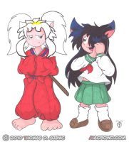 Commish: InuYasha Cosplay by Tabris-The-17th