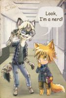 Look, i'm a nerd by Zengel