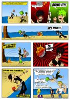 Life's a Beach Pg2 Project by The-Seacow