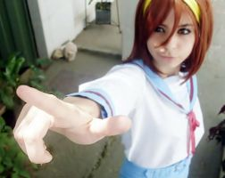 Preview cosplay Haruhi by HinaCrimson
