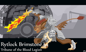 Rytlock Brimstone: Tribune by saportfolio