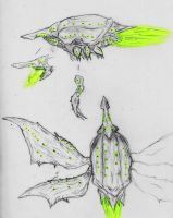 Days of the End: Velocitatem (sketch concepts) by Quinn-Red