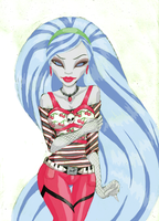 Ghoulia Yelps by SinayaStarChild