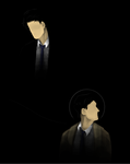 Jimmy and Castiel by Jennilah
