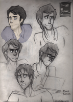 [Thundergamma] Bruce Banner Face study by Nuclearpsychotic