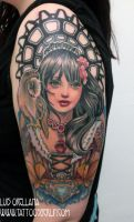 violet baudelaire tattoo by mojoncio