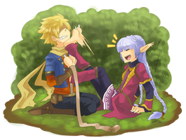 Golden Sun - That tickles by Rika-Wawa