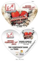 flyer Valentine concert music by ignra