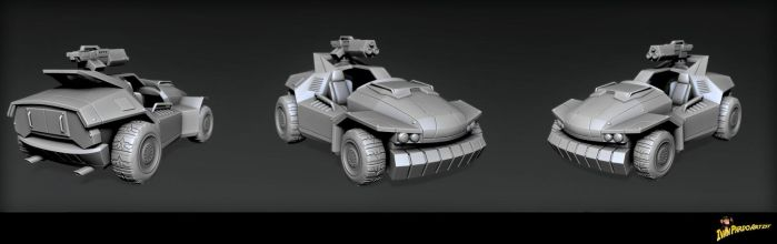 Vehiculo scale75 by superivp