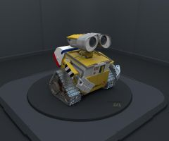 Refurbished Wall-E Wallpaper HD (For Portable) by PixelOz