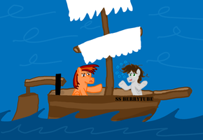 Day13 - Out of Booze, Sails are busted, What next? by RedtoxinDash