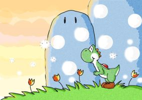 afternoon on yoshi's island by Windwolf667