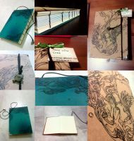 Underwater Handbound Book [SOLD] by shirua
