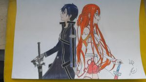 Sword Art Online - Kirito and Asuna [Fin][Co-op] by CroLux