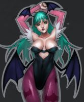 Darkstalkers - Morrigan by RoyalAstray