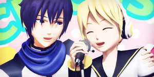 _MMD_ Sing with me by xXHIMRXx