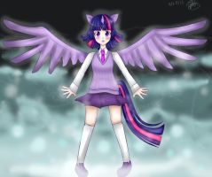 Princess Twilight Sparkle by Britt-Nya
