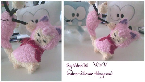 Little Skitty Plushie by Nelan-Dil