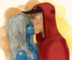 Vanessa and Wade Kiss by yanxxx