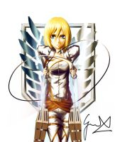 Attack on Titan: Historia Reiss by ManNamedGeorge