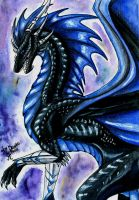 The blue-black by Deygira-Blood