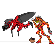 Pyron Mosquito Artillery by oozy5000